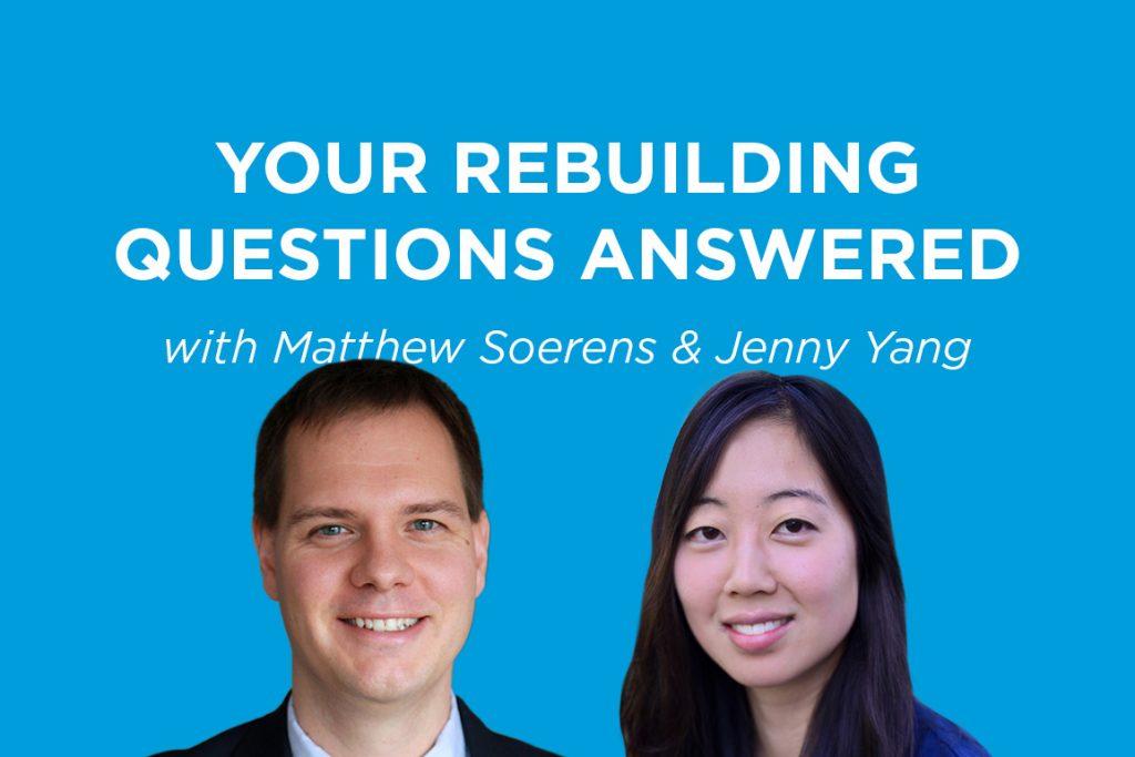 Matt Soerens and Jenny Yang photo