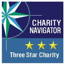 Charity Navigator 3 star logo