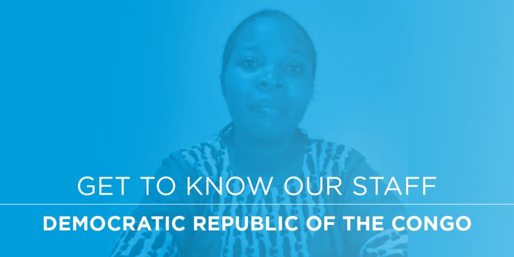 Get to Know Our Staff DR Congo