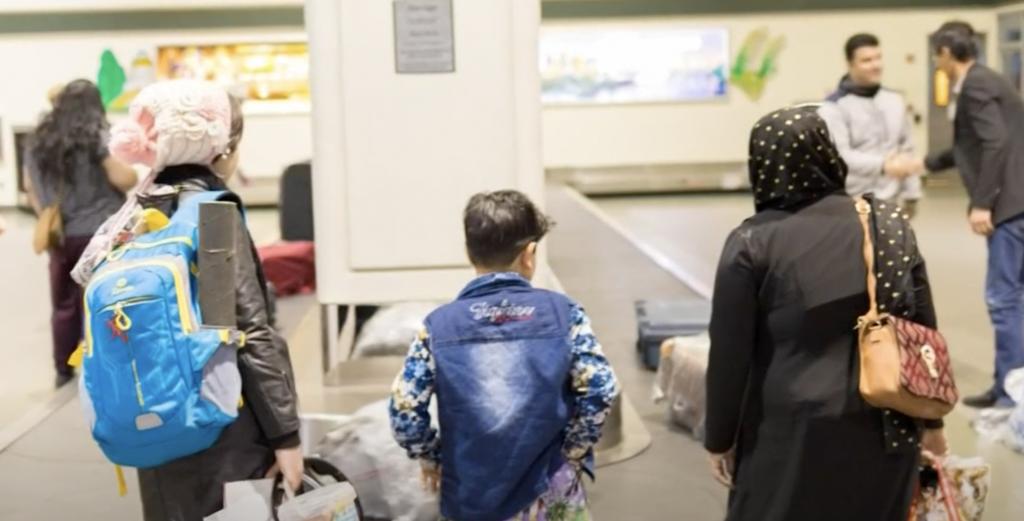 Afghan refugees in Sacramento