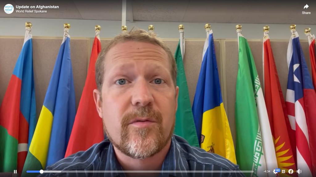 Mark Finney Afghanistan Video